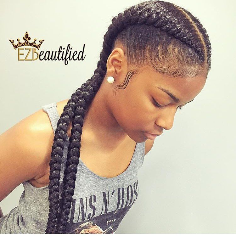 Happilynaturallit26 Two Braid Hairstyles Goddess Braids Hairstyles Box Braids Hairstyles