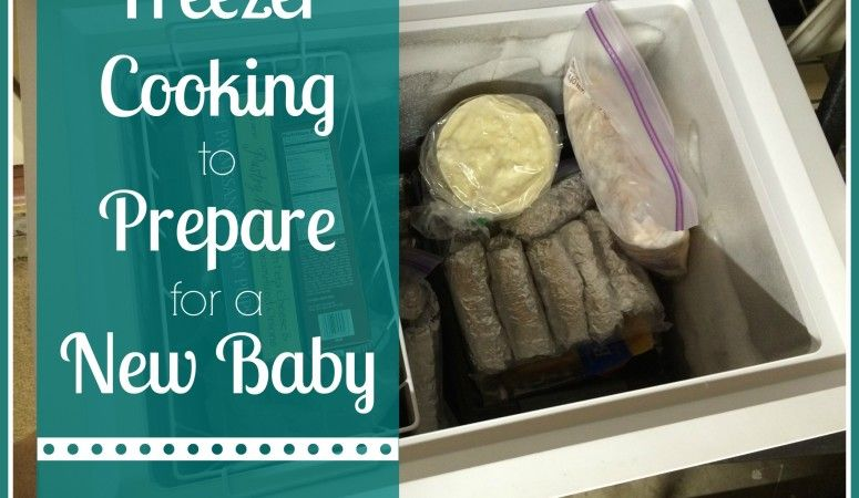 Freezer Cooking to Prepare for a New Baby - Kayse Pratt