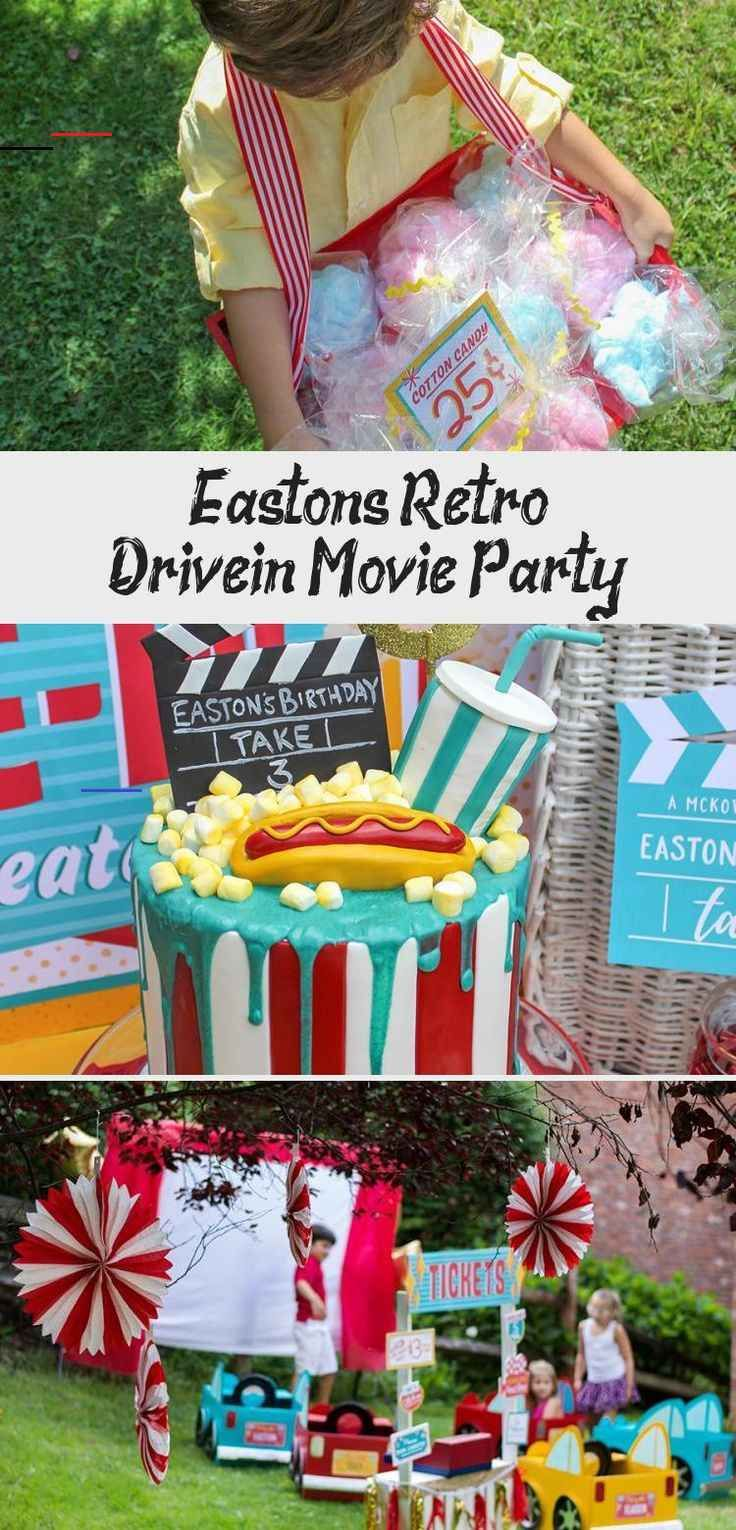 Host an adorable Retro Outdoor Drive-In Movie Party! Compete with movie party ideas and inspiration as well as free printables. DIY cardboard box cars tutorials perfect for an outdoor movie night or birthday party. Also adorable movie night thank you tag free printables and even license plate free printables! #movienight #drivein #driveinbirthdayparty #summerparty #summerbirthday #kidsbirthday #cardboardboxcars #DIYboxcars #freeprintable #kidmoviesCostumes #kidmoviesAnimated #kidmoviesDownload #