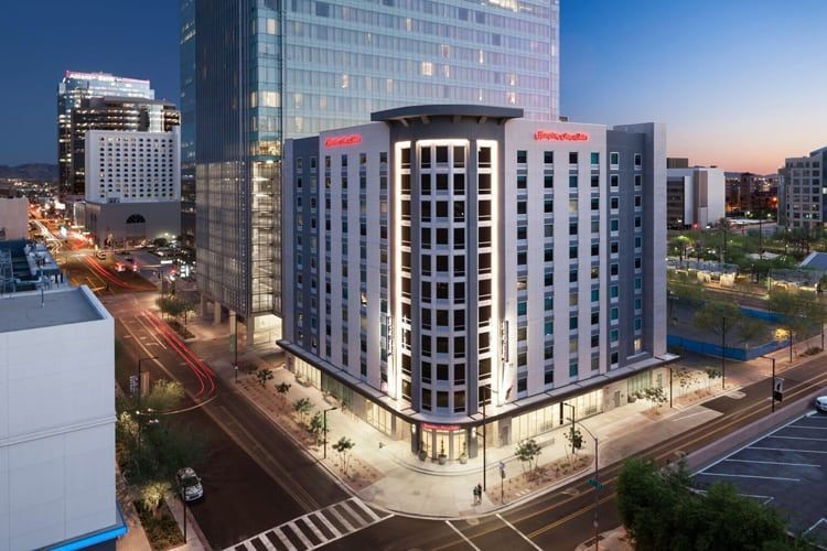 Hampton Inn Suites By Hilton Opens In Downtown Phoenix The Hampton Inn Suites By Hilton The Newest Hotel In Hampton Inn Downtown Phoenix Dream Vacations