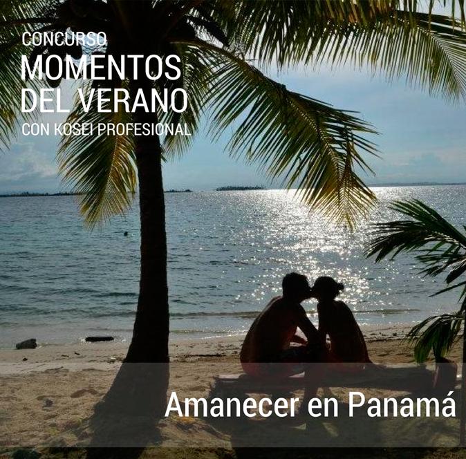 Ganador del Concurso MOMENTOS DEL VERANO con Kosei Profesional: Titulo: Amanecer en Panamá.