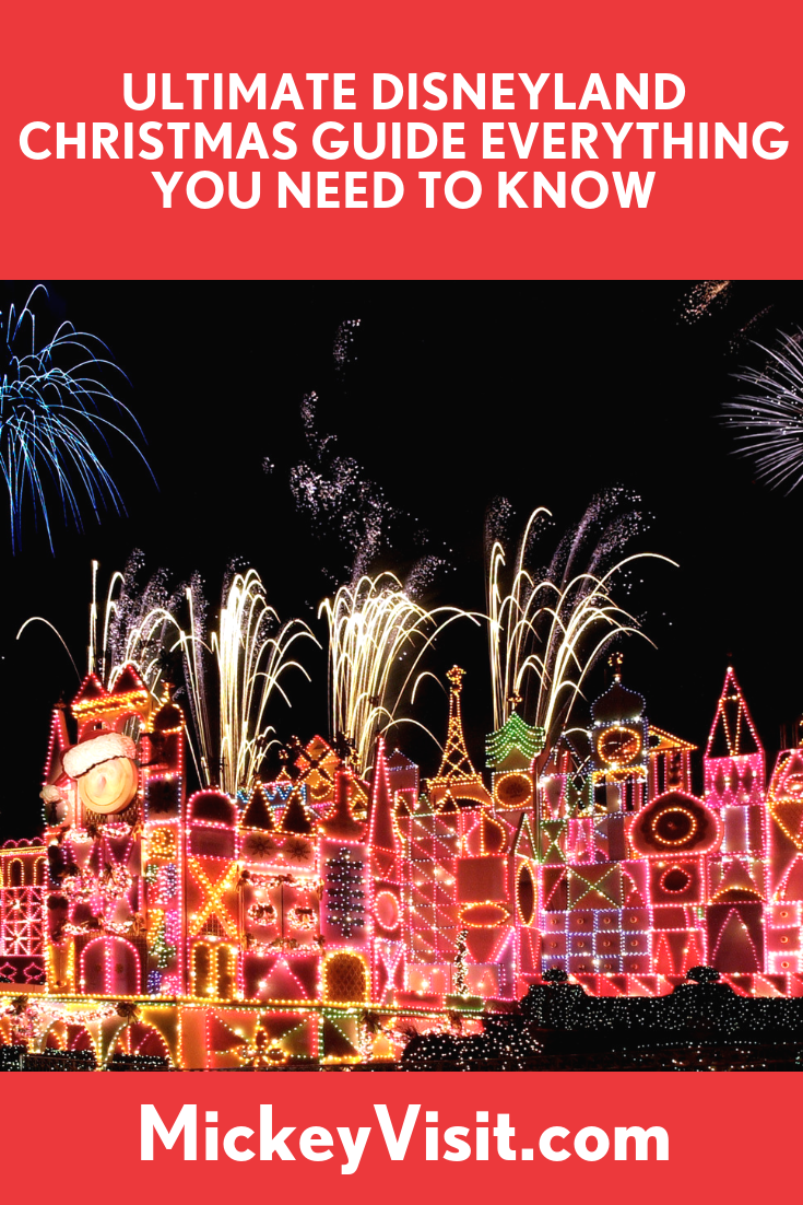 2020 Disneyland Christmas Guide Dates, Tips, Decorations