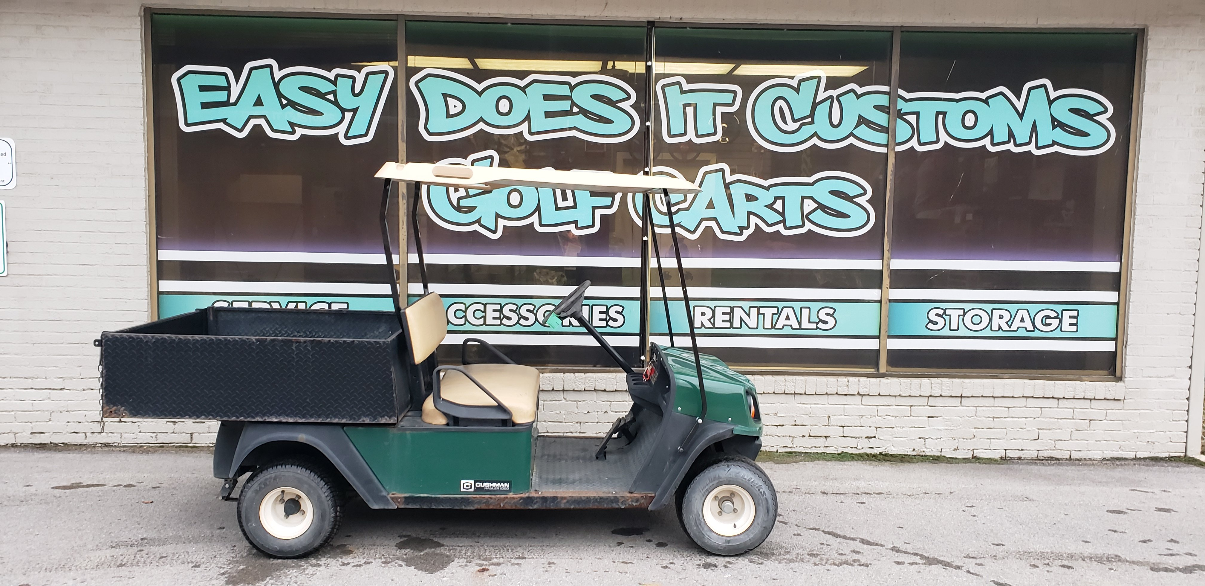 Cushman hauler utility golf cart *sold Golf carts