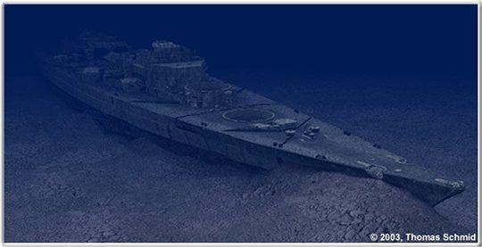 Battleship Hood Wreck Photos Of The Wreck Of Battleship