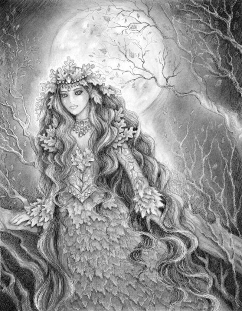 Moon_night_by_vikachaeeta.jpg | elfos duendes | Pinterest | Elfo y ...