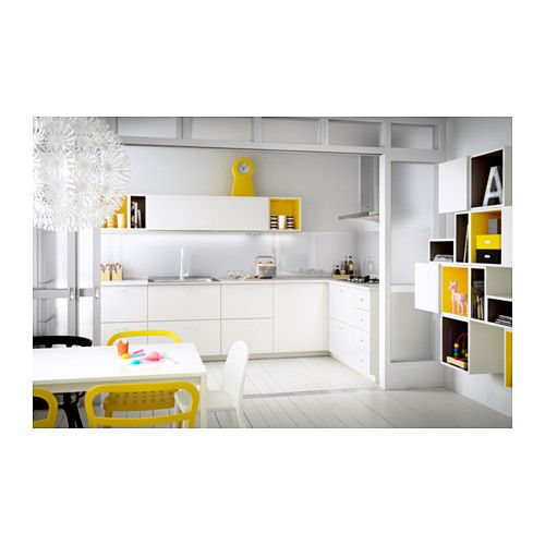 Ikea Kitchen Veddinge White: Interior Design Ideas
