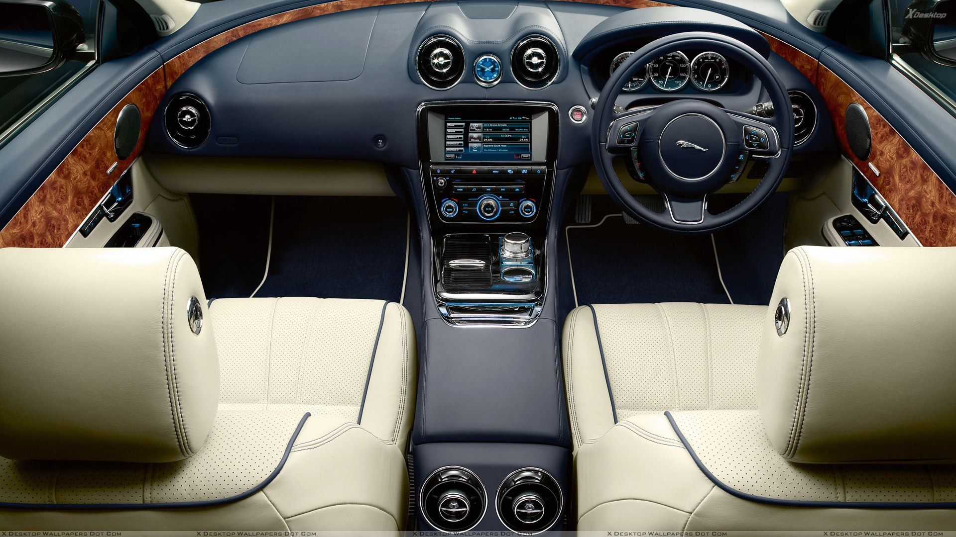 Startech, which is a subsidiary of brabus, does some of the most unique, interesting and yet still tasteful. Jaguar Xj Interior 1920x1080 Wallpaper Jaguar Car Jaguar Xj Jaguar