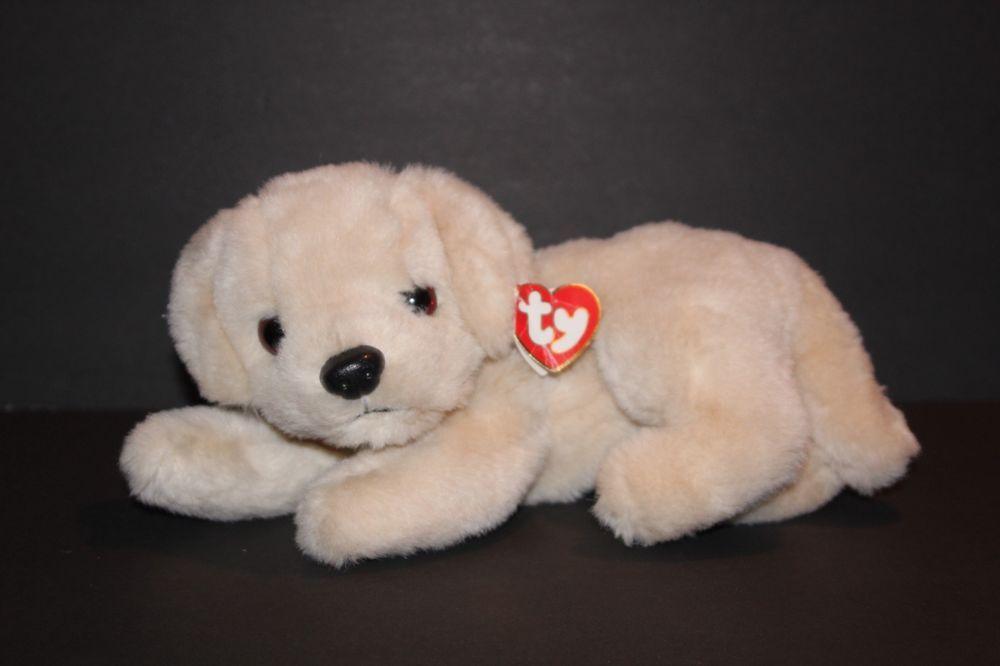 Ty Classic Muffin Dog Plush 11 Rare1995 Plush Stuffed Animal