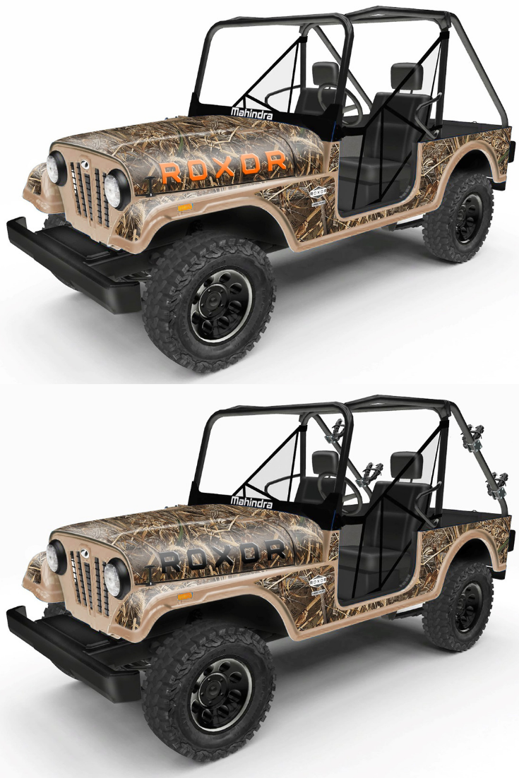 Roxor Realtree Wrap Offroad Vehicles Camo Wraps Offroad