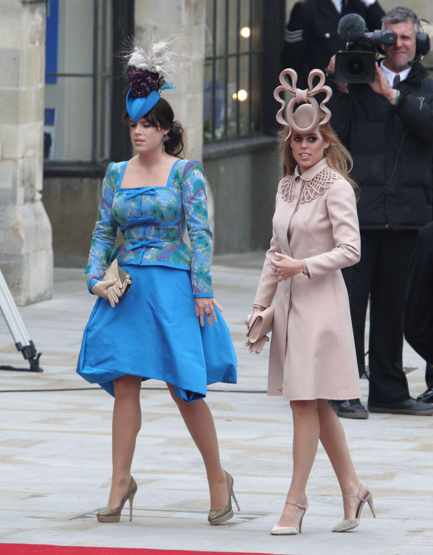 Princess Eugenie and Princess Beatrice Princess eugenie