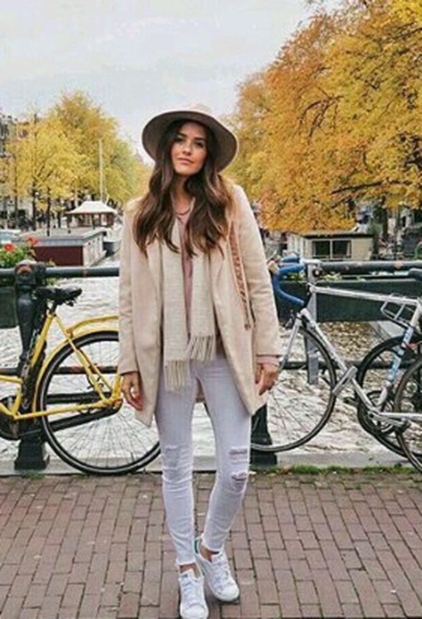 Looks de abrigo con sombrero para otoño 2015   ActitudFEM