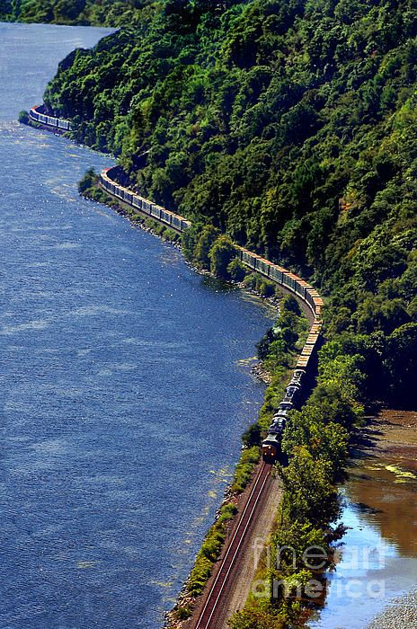 Hudson River Train Fine Art Prints And Posters For Sale Pin