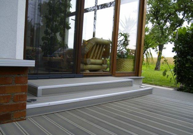 Plastic Wood Floor For Outside Composite Wood Floor For Sale In