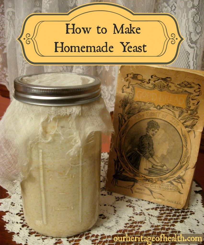 How to make homemade yeast I cant wait to try this to try a batch of Sourdough
