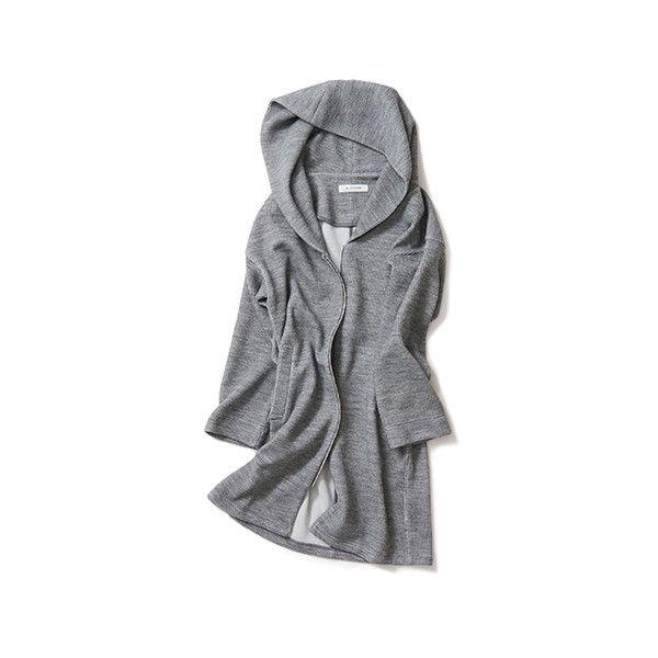 Kyoko Kikuchi's Closet | コーディガンの春先バージョン ❤ liked on Polyvore featuring coats