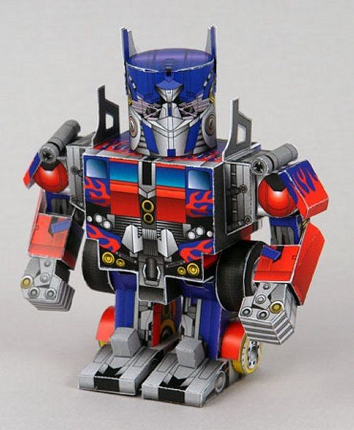 News 50 Free Papercraft Robot Downloads For My Boys And