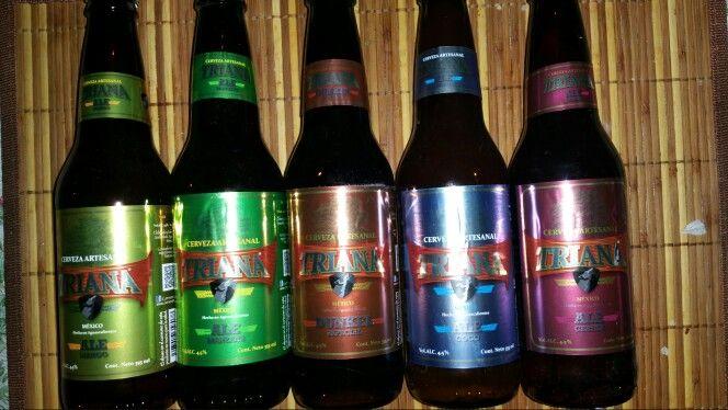 Cervezas Triana 200 5 Estilos Diferentes Manzana Cereza Mango