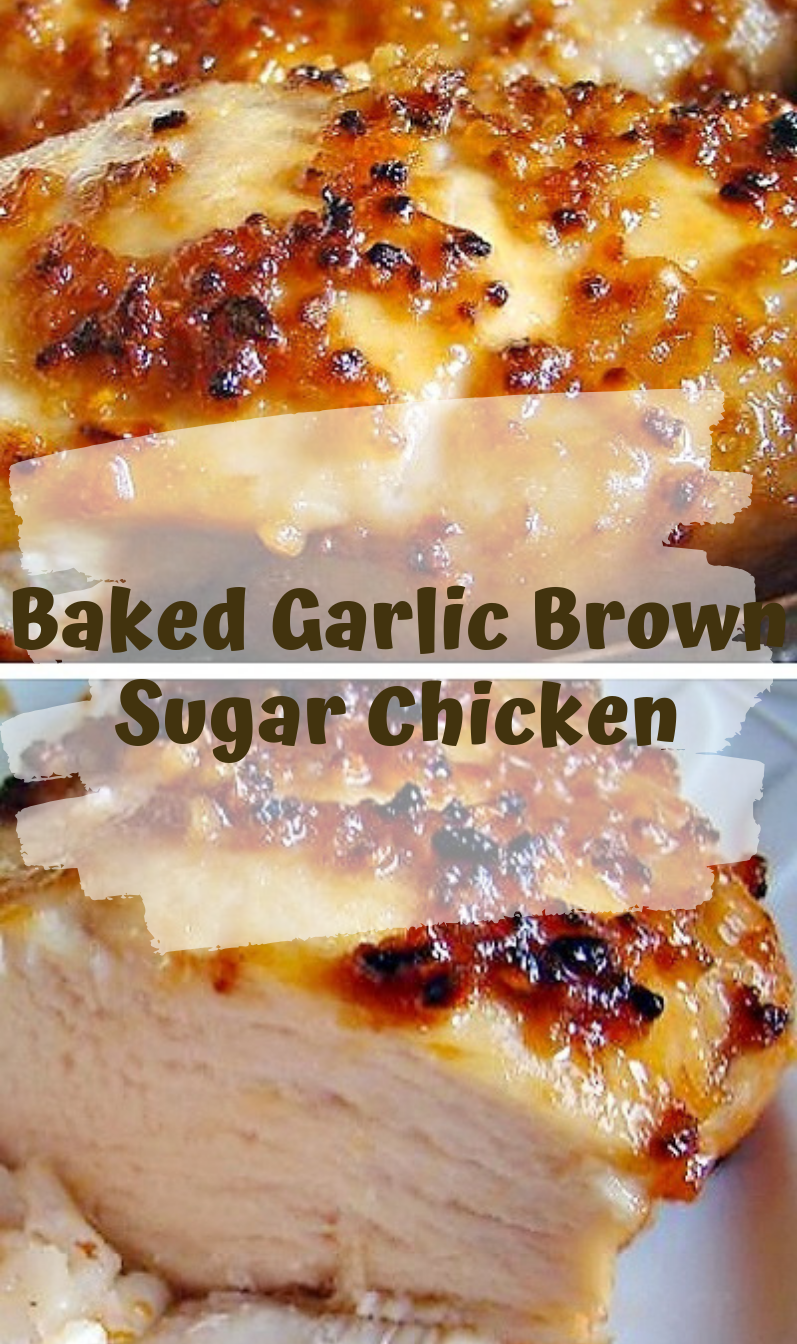 Photo of Baked Garlic Brown Sugar Chicken – Viral food