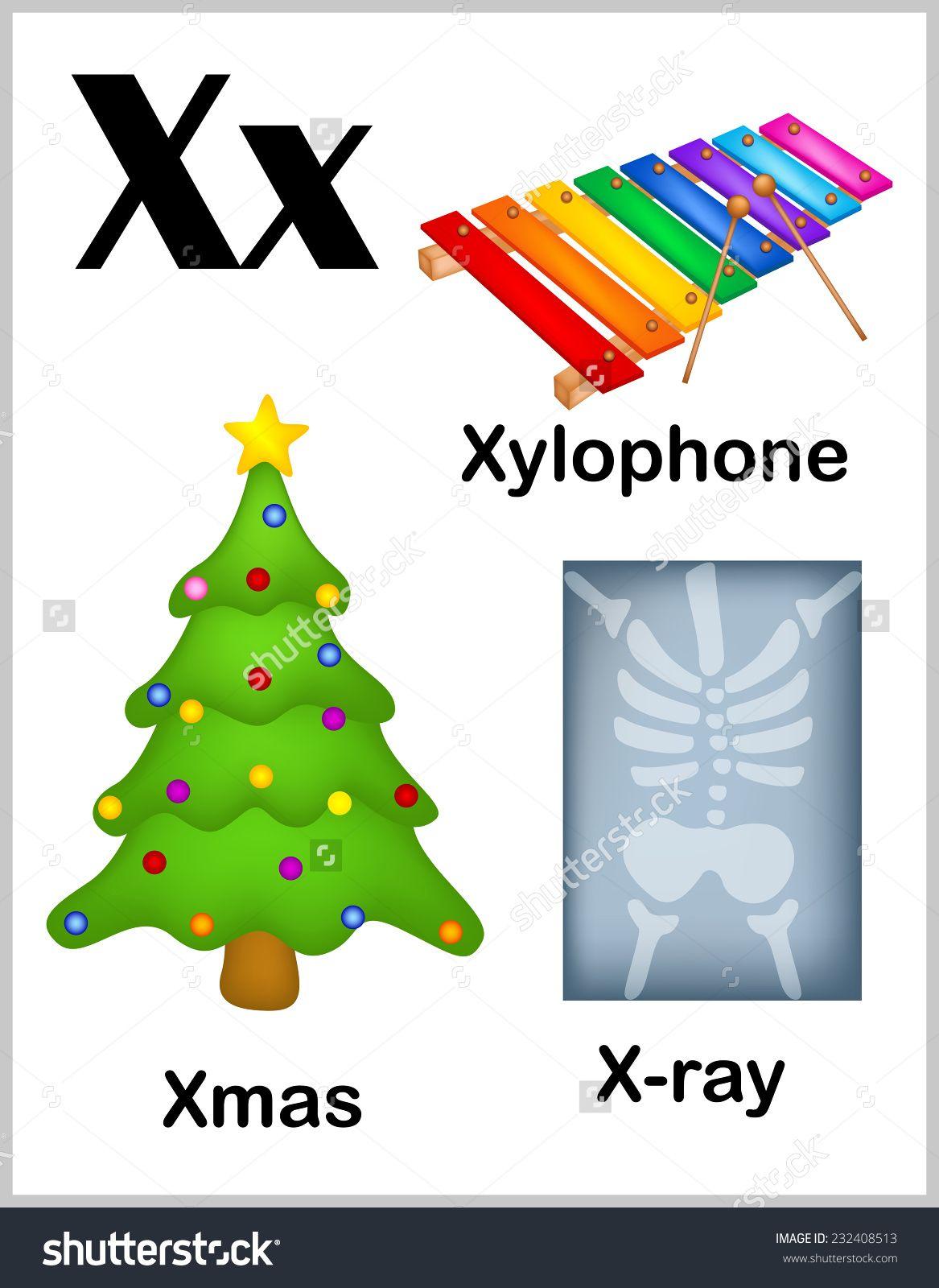 Image Result For Letter X Words