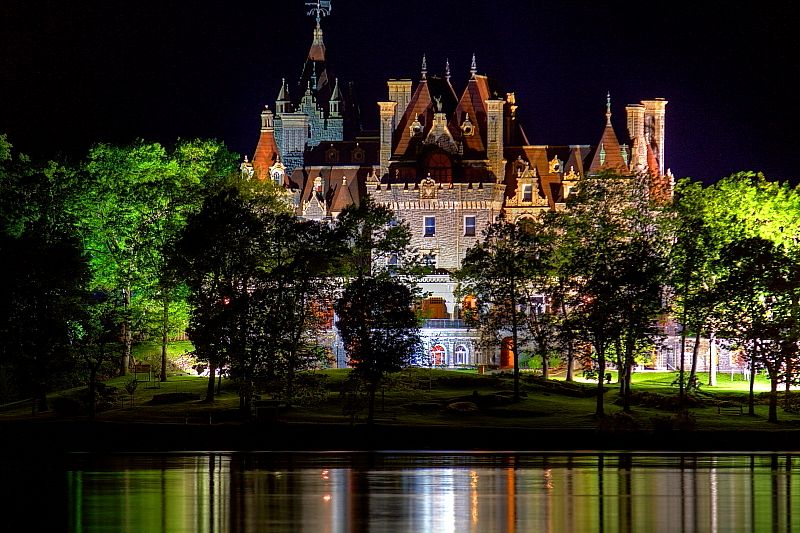 how to get from alexandria bay to boldt castle