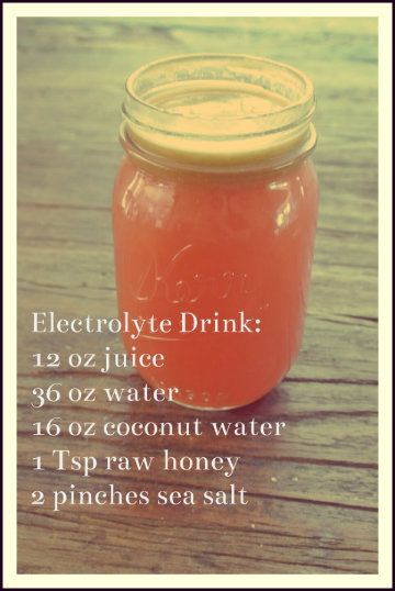 Basic Electrolyte Drinks Dump The Zero Get W A Hero Ditch Gatorade Make Your Own Natural Sports