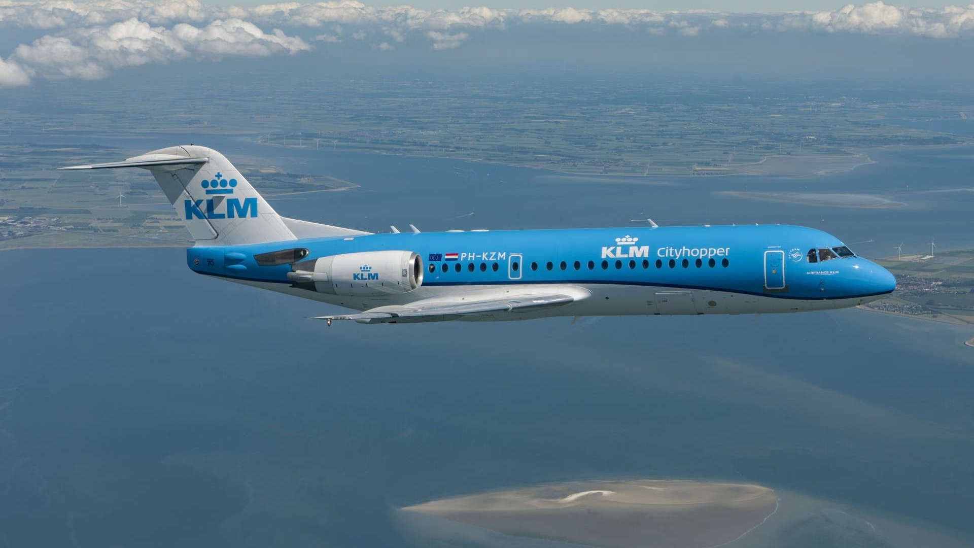 Our Mission To Capture The Fokker 70 In Flight Vliegtuig