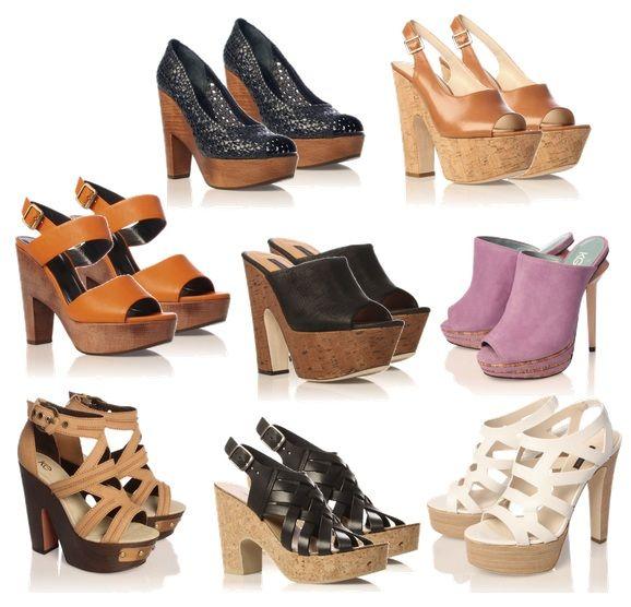 7211432d545 4 estilos  Zuecos y zapatos de madera