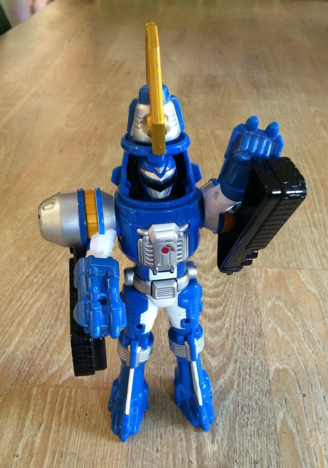 POWER RANGERS OPERATION OVERDRIVE BLUE TURBO DRILL Action Figure Bandai 2006   eBay