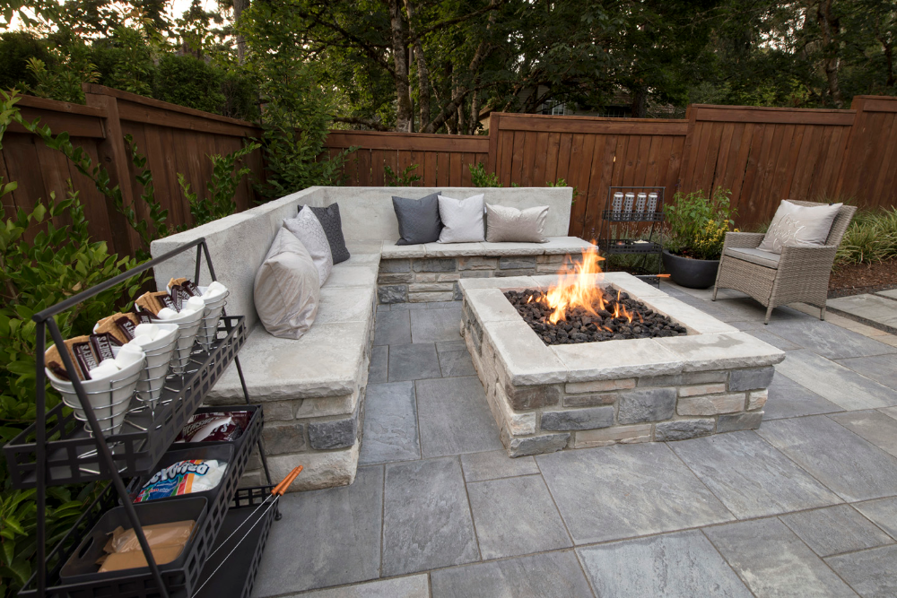 fire pits wood burning or gas paradise restored on backyard fire pit landscaping id=16464