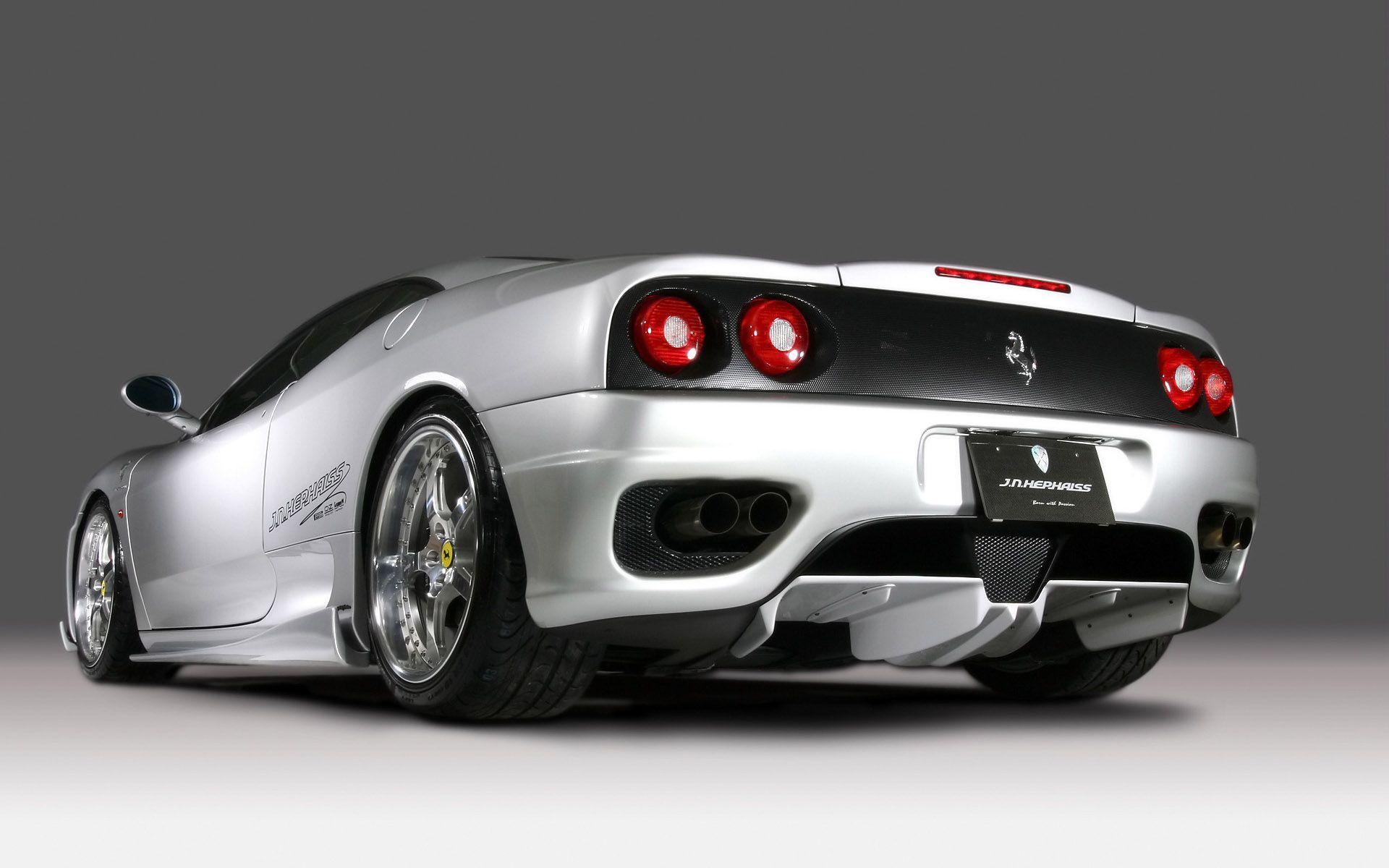Good HD Wallpaper For Backgrounds JNH Ferrari 360 Modena 2007 Car Tuning JNH  Ferrari 360 ...