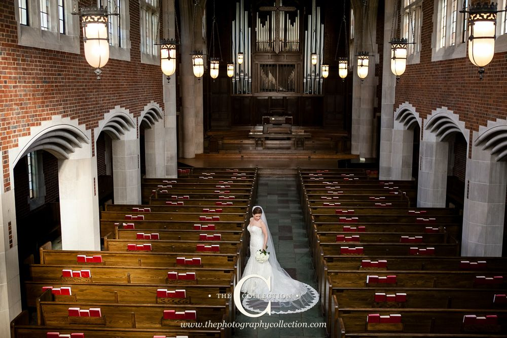 Bridal Portait For Scarritt Bennett Wightman Chapel Wedding In Nashville Tn Chapel Venues Wedding Photos
