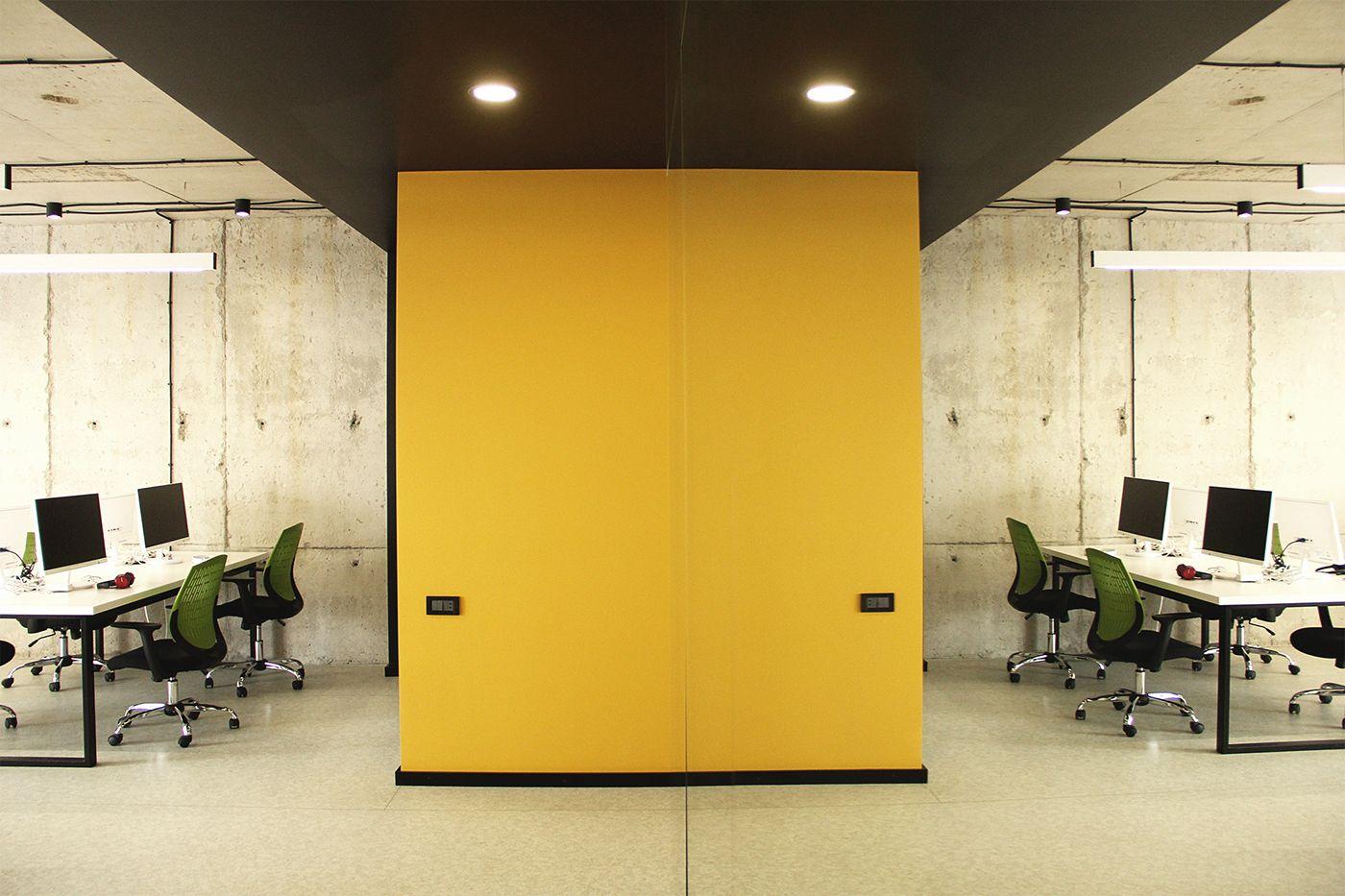 Dzzz studio office interior on behance dzzz pinterest