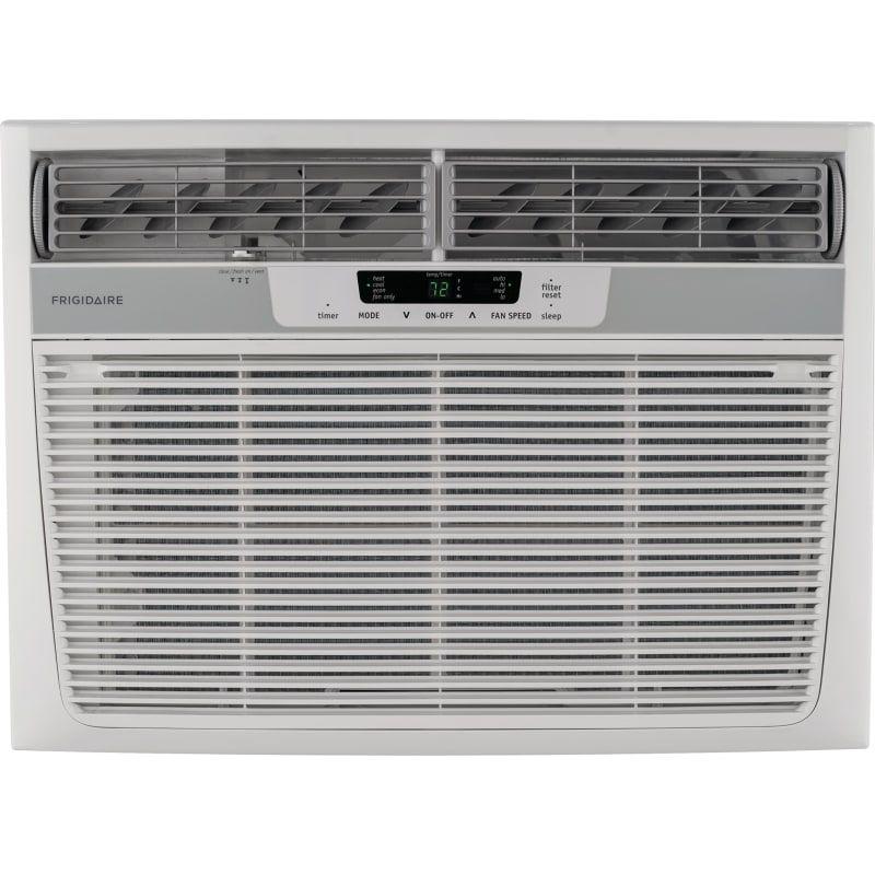 Frigidaire 18500 Btu Window Mounted Electric Air Conditioner W 16000 Btu Heater Remote Control Ffrh1822r2 Window Air Conditioner Frigidaire Air Conditioner High Efficiency Air Conditioner