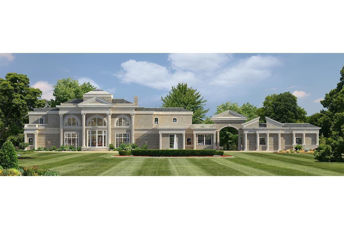 House Plan 544500294 Luxury Plan 8,368 Square Feet, 6