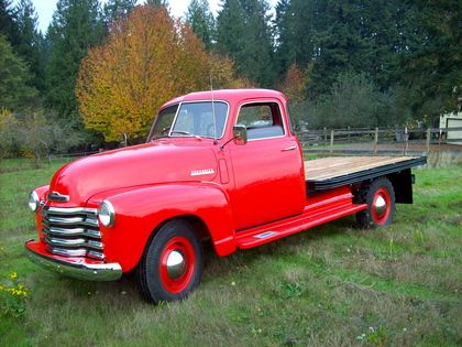 1948 chevy 1 ton chevrolet chevy trucks for sale old trucks chevrolet pinterest. Black Bedroom Furniture Sets. Home Design Ideas