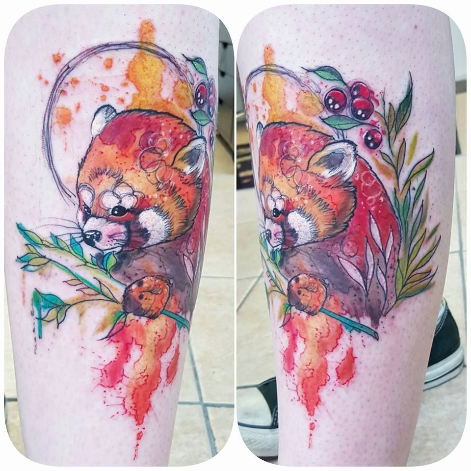 The Exquisite Watercolour Tattoos Of Joanne Baker