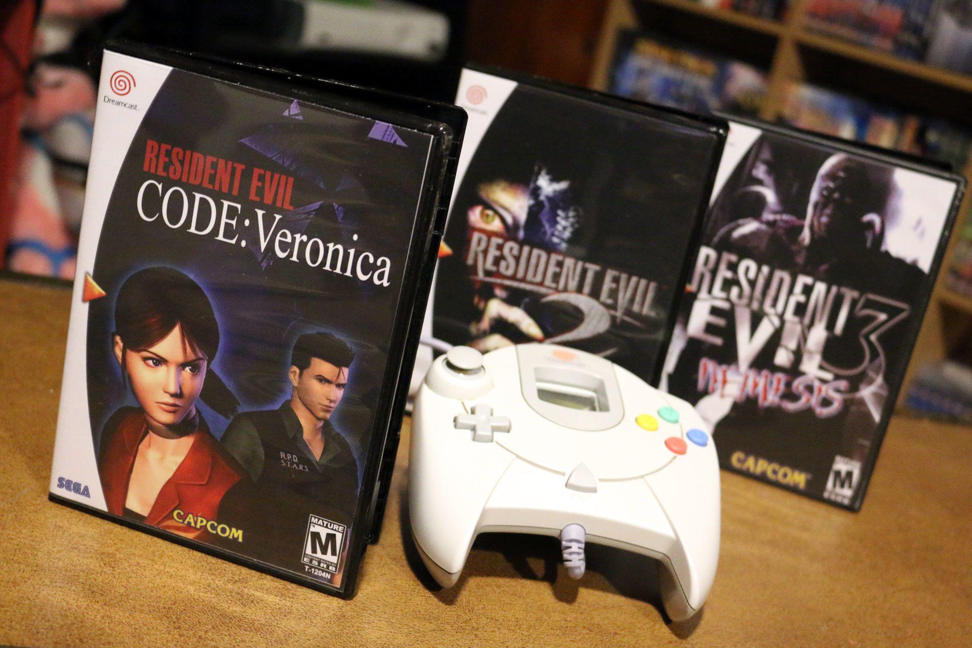 Resident Evil 2, 3 & Code Veronica on the Sega Dreamcast