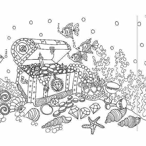 unterwasser tiere malen leicht - tier malen