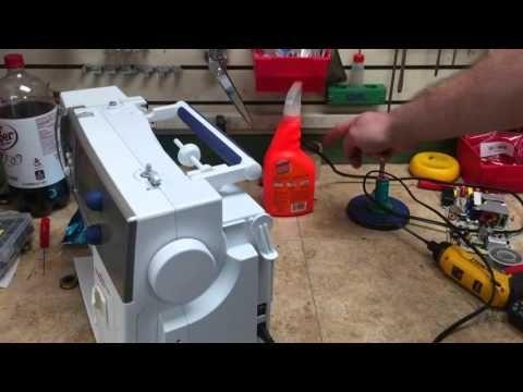 Bernina Sewing Machine Won't turn on - 210, 220, 230, 240