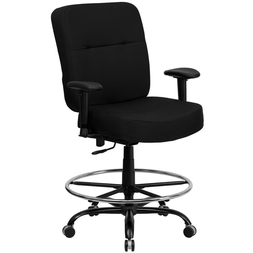 Flash Furniture Black Fabric Office Desk Chair Used Office