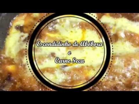 Escondidinho de carne seca low carb - Dieta Low Carb
