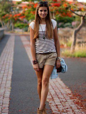 Looks con shorts marrones Zara Trendtation