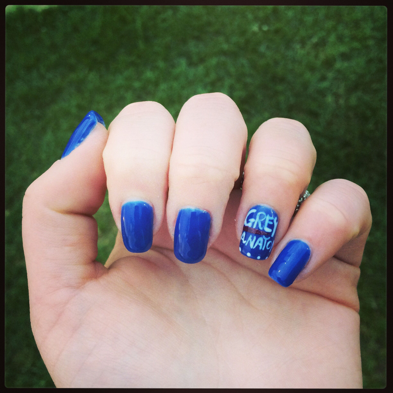 Grey\'s Anatomy Nails!!! | Nails | Pinterest | Anatomy