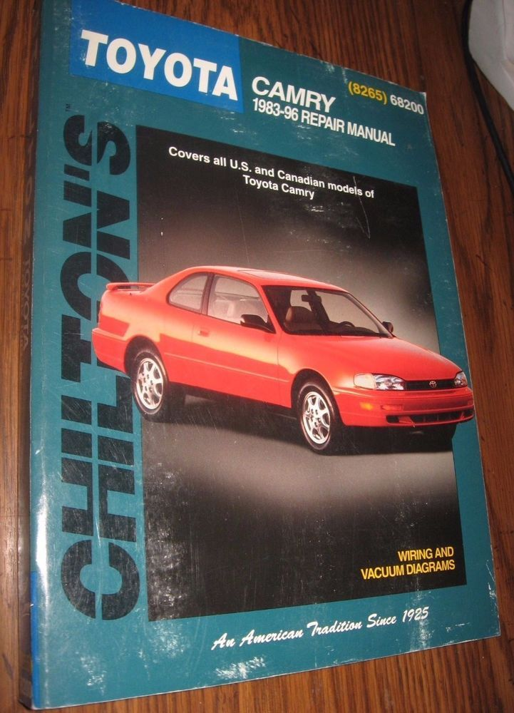 chilton repair manual toyota camry 1983 96 68200 stuff to buy rh pinterest com 96 camry manual swap 96 camry manual transmission