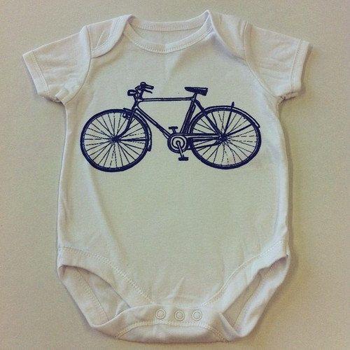 Bike onesie eco-friendly waterbased inks