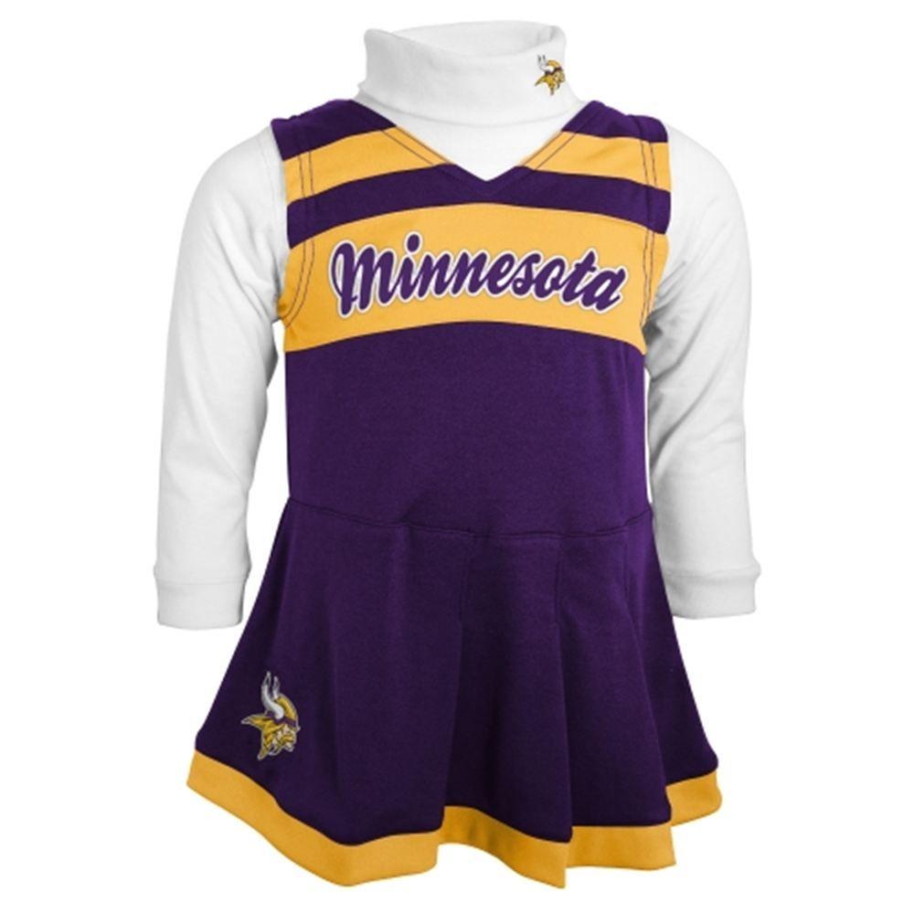Minnesota Vikings Toddler Cheer Jumper - Purple  5f6b532cb
