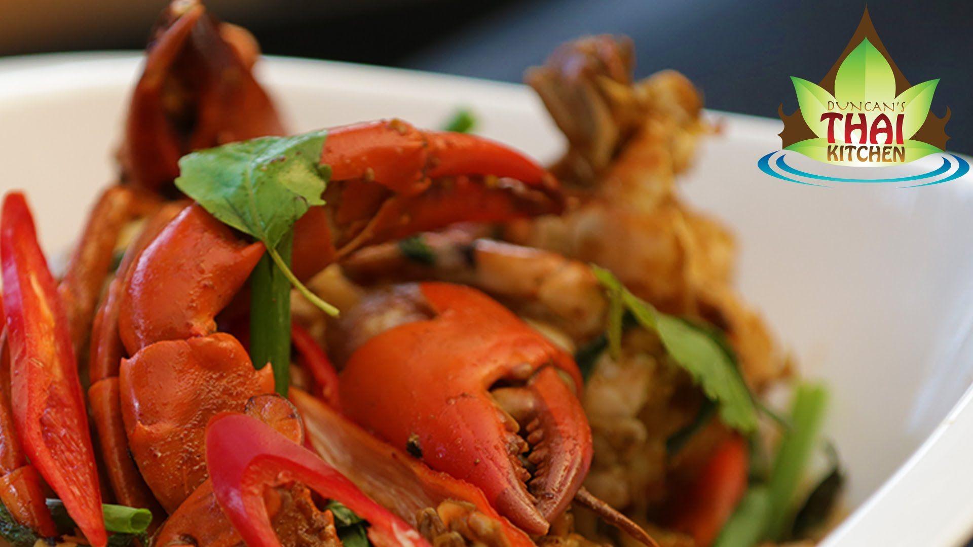 Thai Food - Chilli Mud Crab Recipe ...