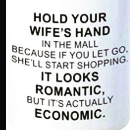 Andy on | Husband | Funny quotes, Wife humor, Shopping humor