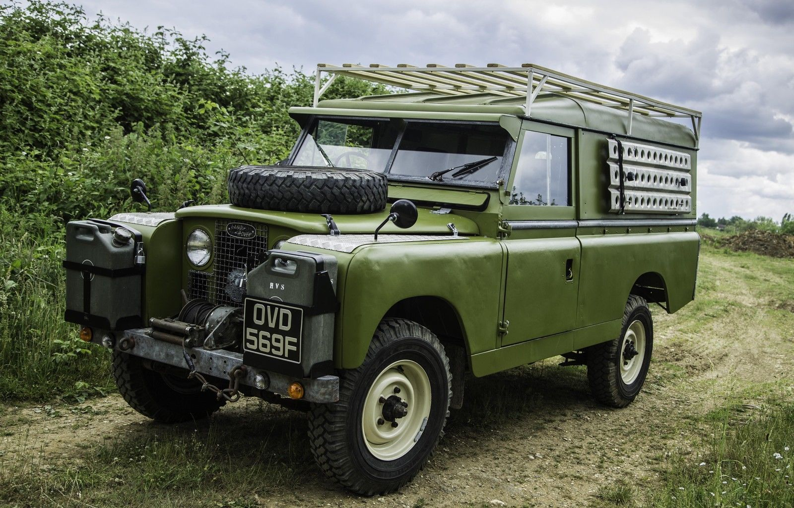 Amazing Series 2 Land Rover for sale ! http://www.ebay.co.uk/itm ...