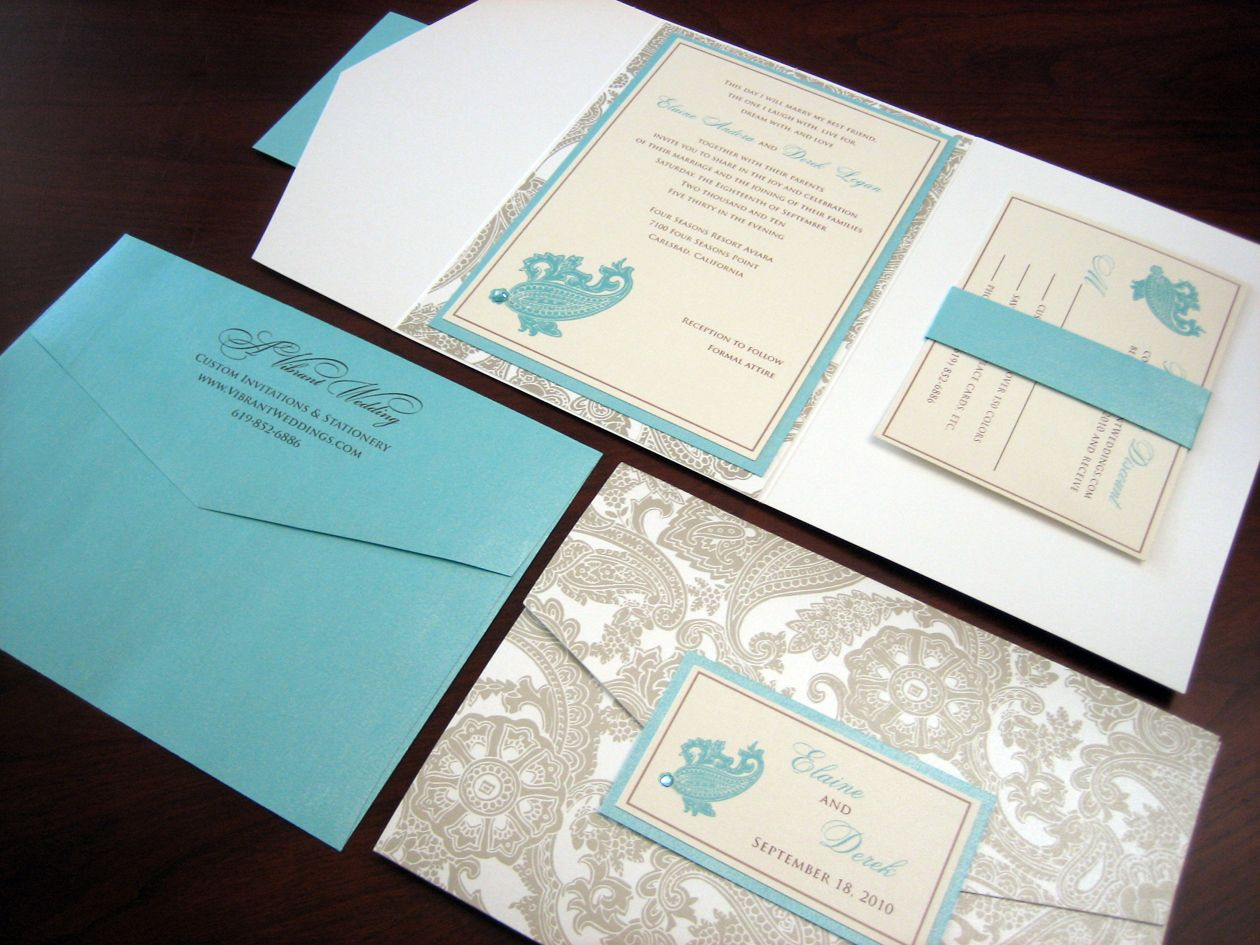 Like These Invites With Grey And Turquoise On Yellow Paper